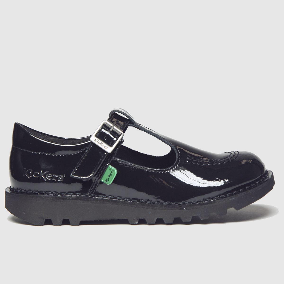 Kickers Black T Patl Boots Junior