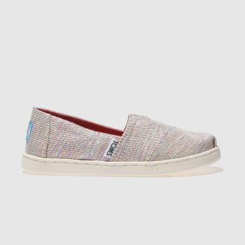 Toms Multi Classic Girls Junior