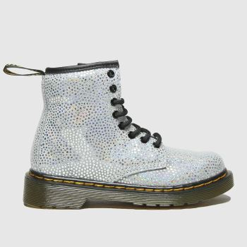 Dr Martens Silver 1460 Spot Girls Junior