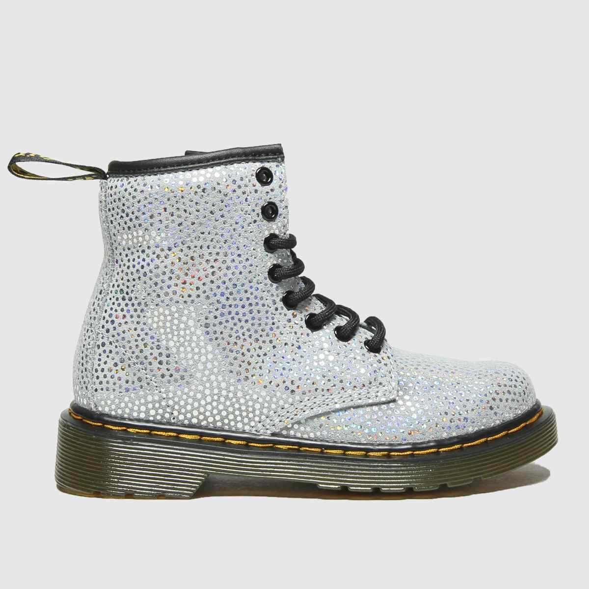 Dr Martens Silver 1460 Spot Boots Junior