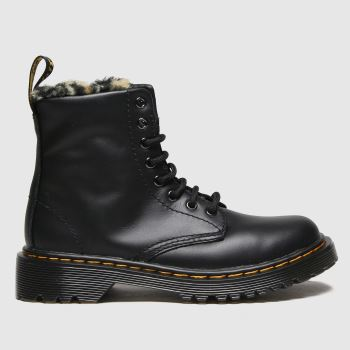 Dr Martens Black 1460 Serena Girls Junior