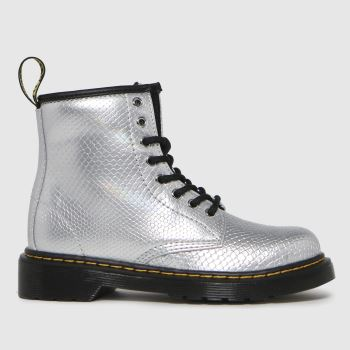 Dr Martens Silver 1460 Girls Junior