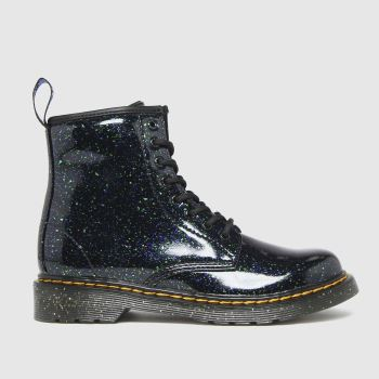 Dr Martens Dark Green 1460 Glitter Girls Junior
