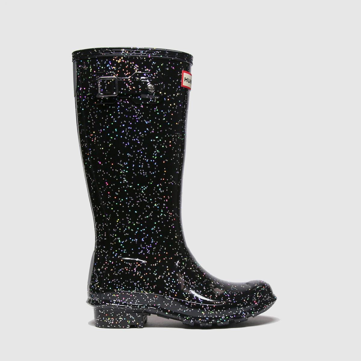 Hunter Black Original Nebula Jnr Boots Junior