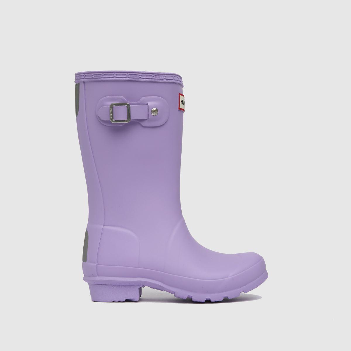 Hunter Lilac Original Boots Junior