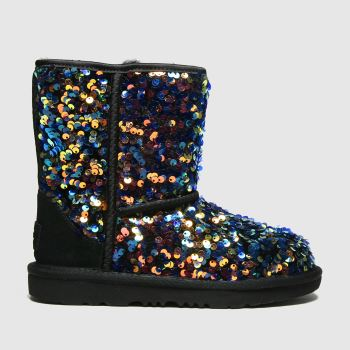 UGG Multi Classic Ii Sequin Girls Junior