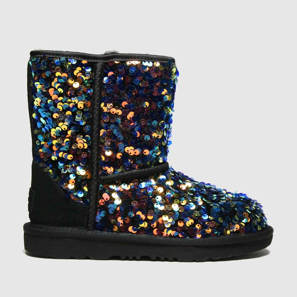 UGG Multi Classic Ii Sequin Boots Junior