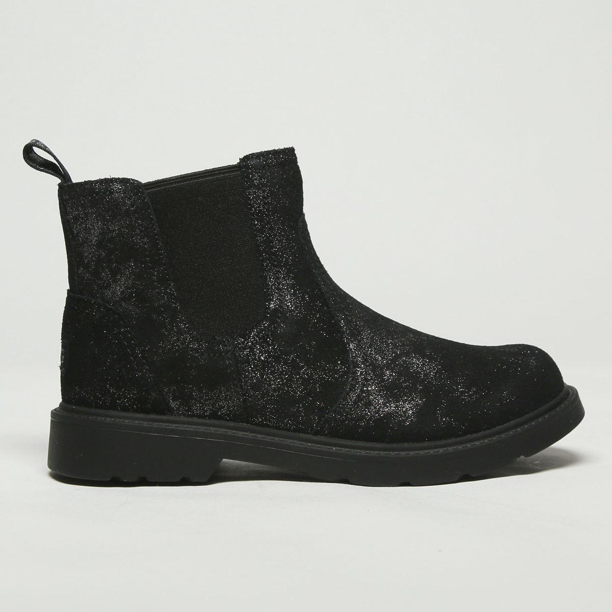 UGG Black Bolden Metallic Boots Junior