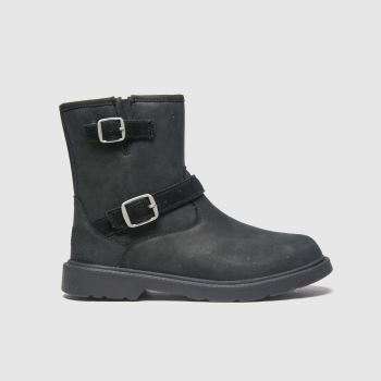 UGG Black Kinzey Girls Junior
