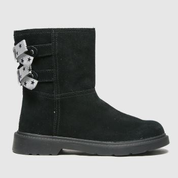 UGG Black Tillee Girls Junior