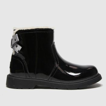 UGG Black Lynde Girls Junior