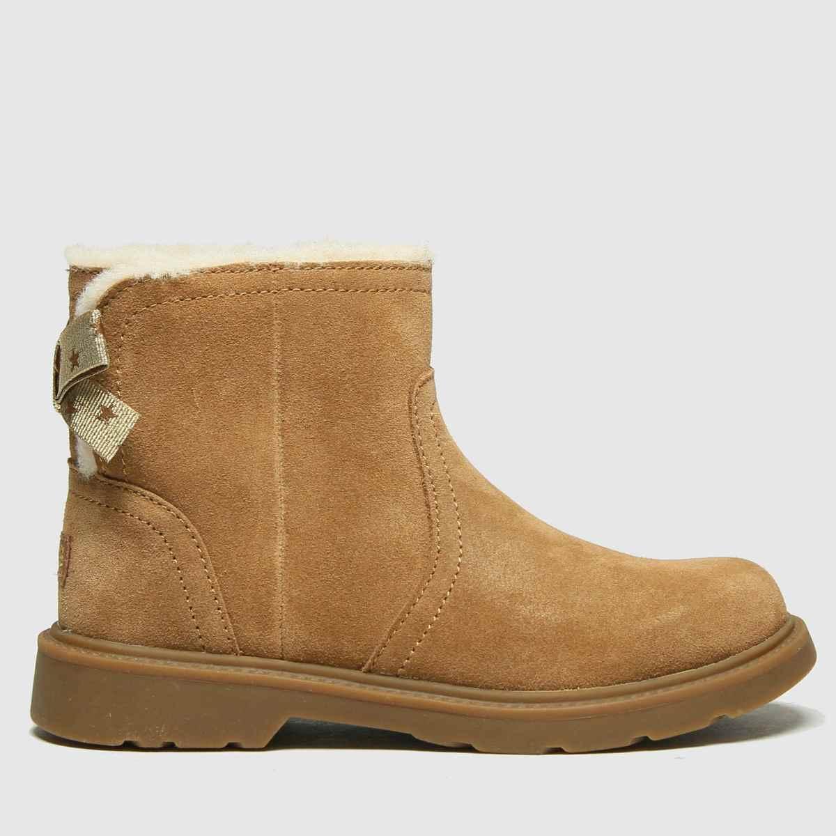 UGG Tan Lynde Boots Junior
