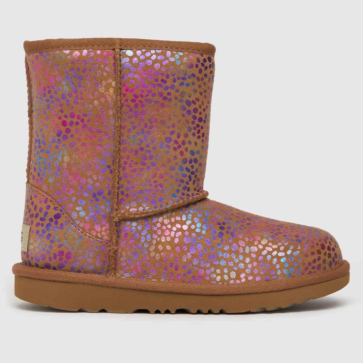 UGG Tan Classic Ii Spots Boots Junior