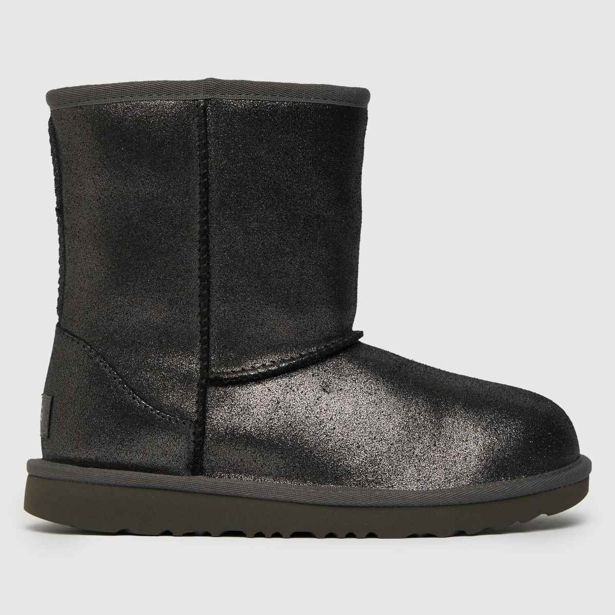 UGG Silver Classic Ii Metallic Boots Junior