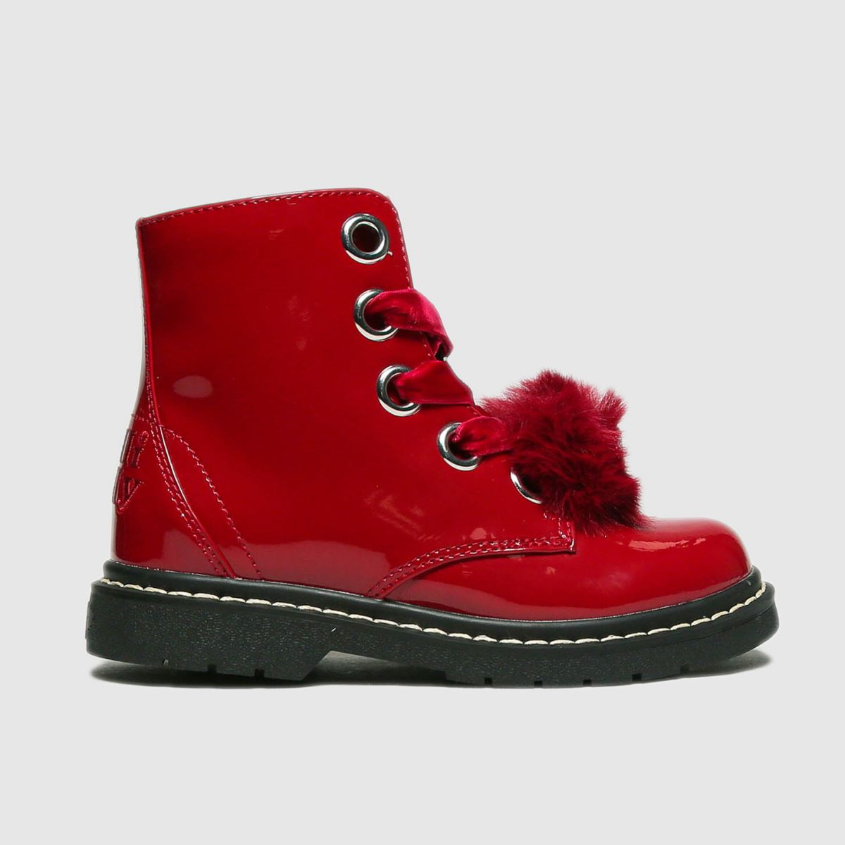 Lelli Kelly Red Fiocco Di Neve Boots Junior