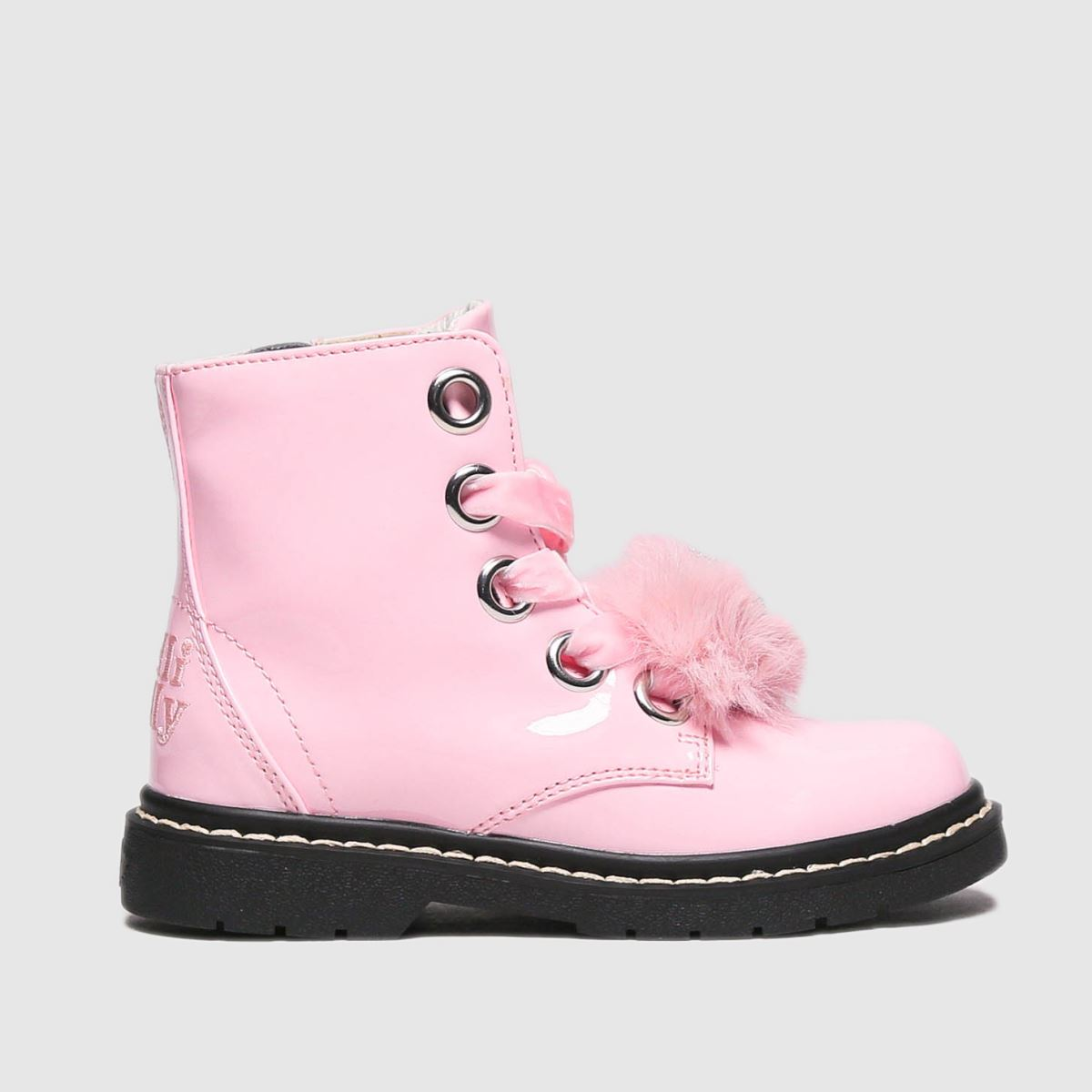 Lelli Kelly Pale Pink Fiocco Di Neve Boots Junior