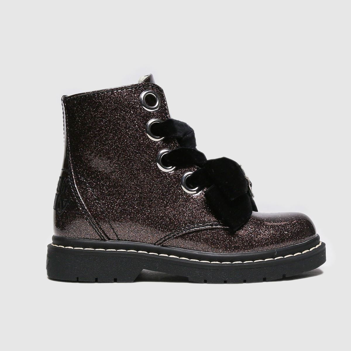 Lelli Kelly Pewter Fior Di Fiocco Boots Junior