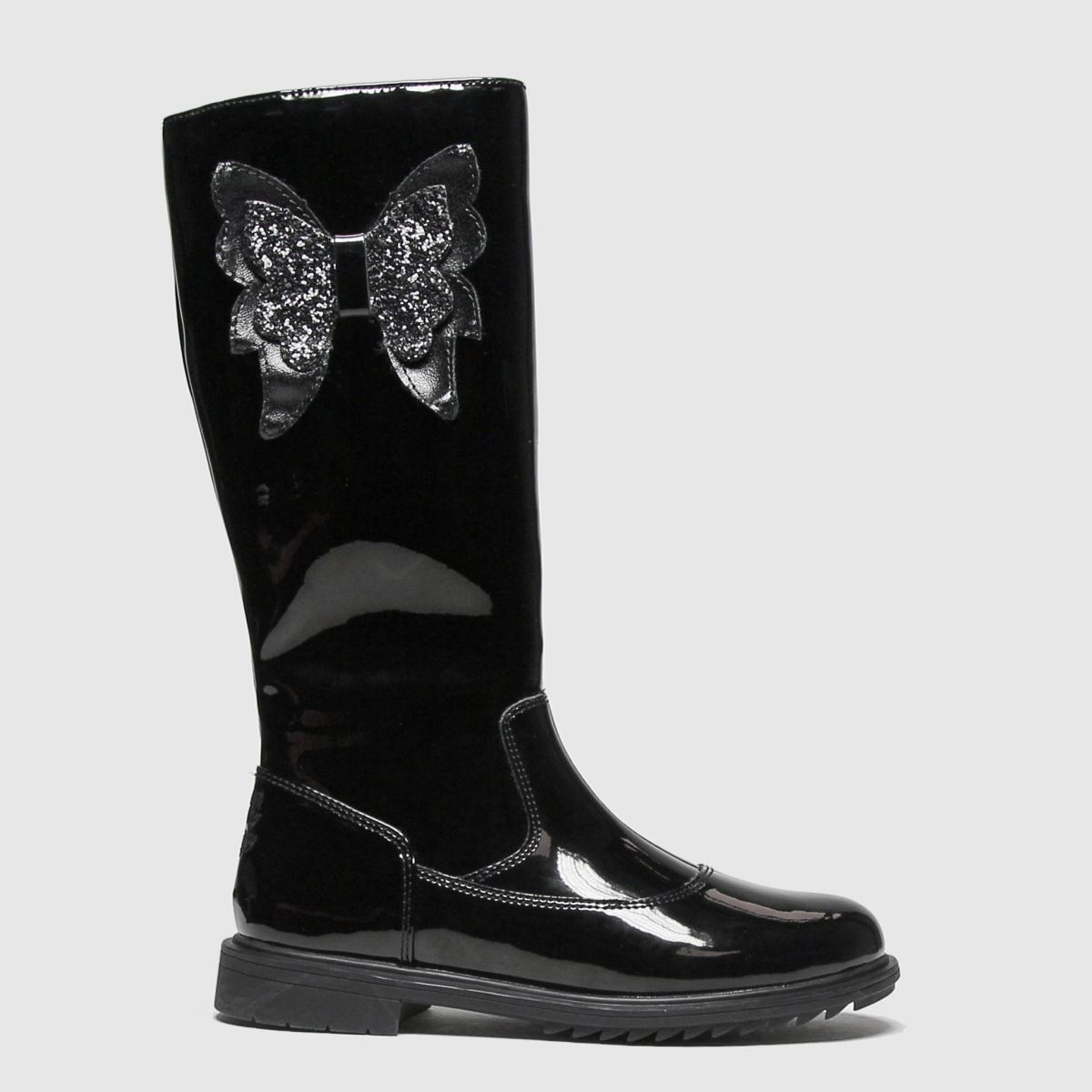 Lelli Kelly Black Maggie Boots Junior