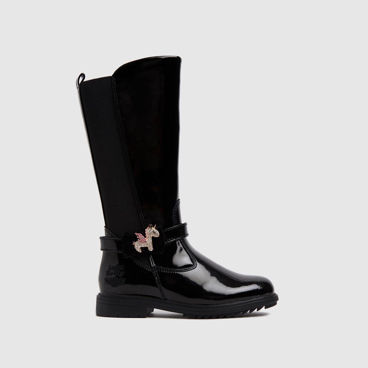 Lelli Kelly Black Bliss Boots Junior