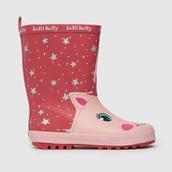 Lelli Kelly Pink Hollee Girls Junior