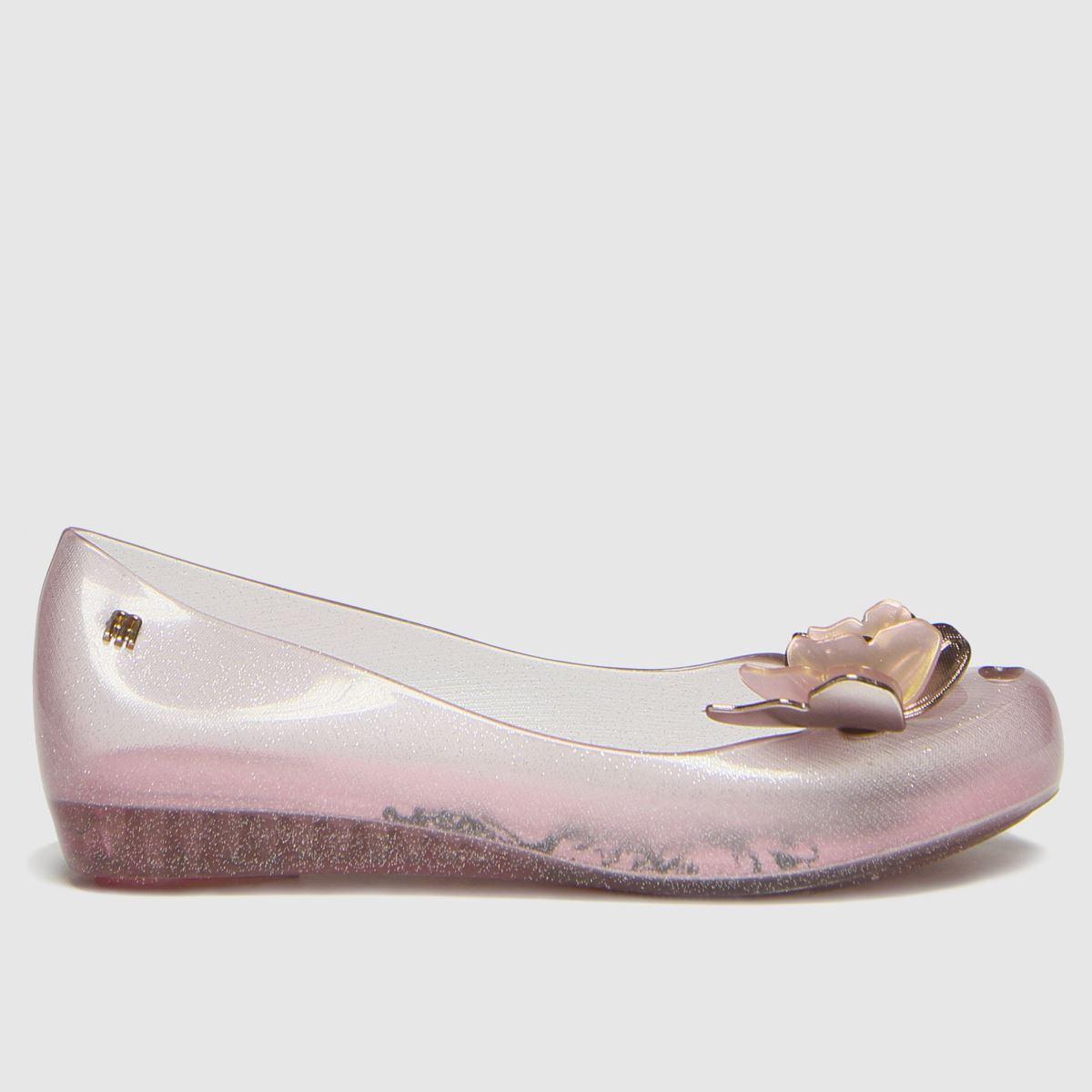 Melissa Pale Pink Ultragirl Butterfly Boots Junior