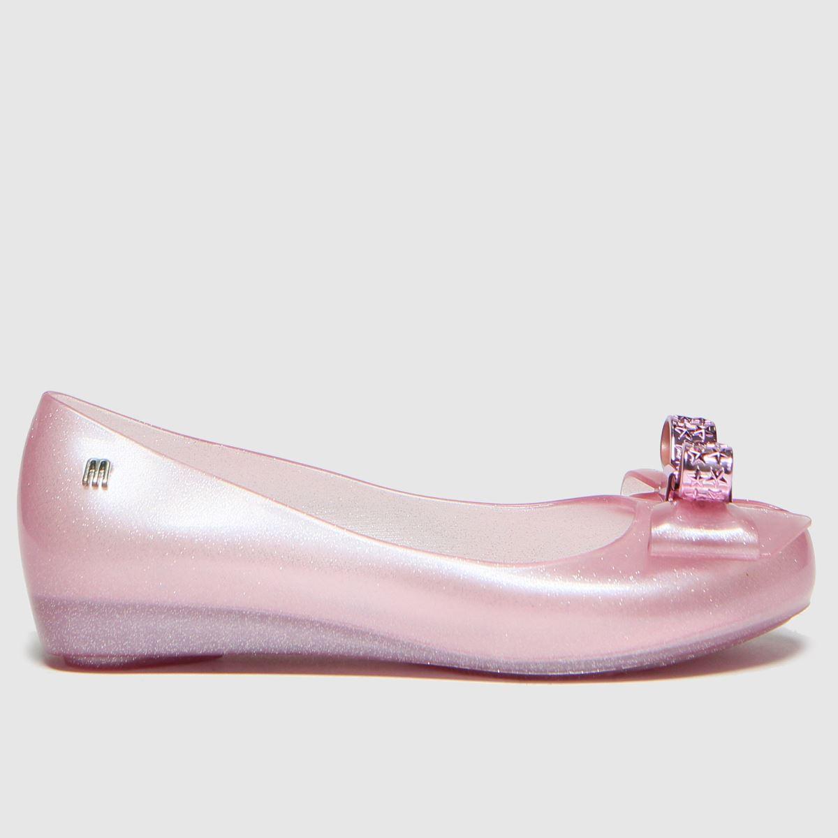 Melissa Pale Pink Ultragirl Stars Boots Junior