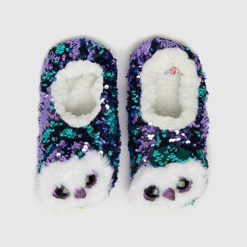 TyUK Purple Moonlight Owl Girls Junior