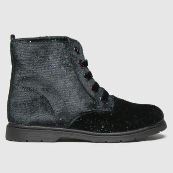 schuh Black Night Sky Glitter Boot Girls Junior