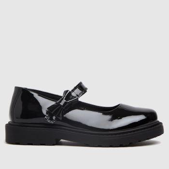 schuh Black Liberty Shoe Girls Junior