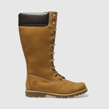 Timberland Tan Asphalt Trail Tall c2namevalue::Girls Youth