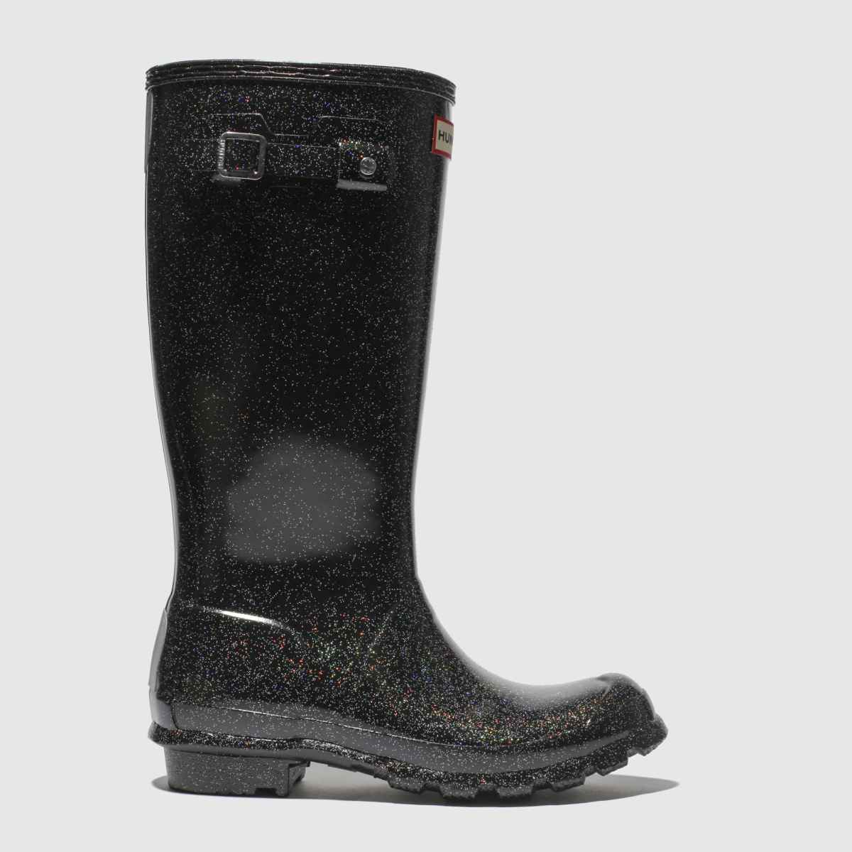 Hunter Black Original Starcloud Boots Youth