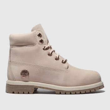 Timberland Pale Pink Timb 6 Inch Premium Girls Youth