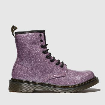 Dr Martens Pink 1460 Glitter Girls Youth