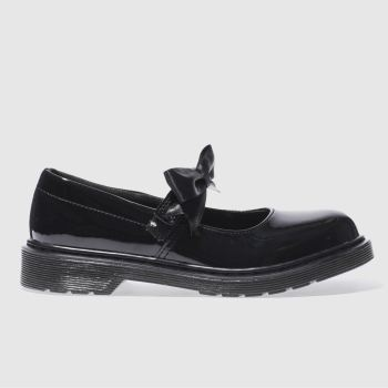 Dr Martens Black Maccy Ii Girls Youth