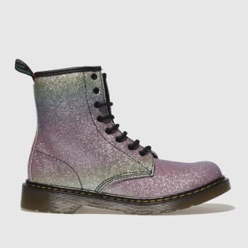 Dr Martens Pink & Lilac 1460 Glitter Girls Youth