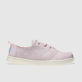 Toms Pale Pink LUMIN Girls Youth