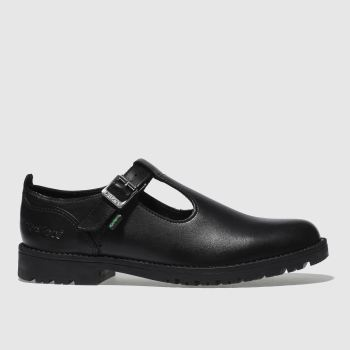 Kickers Black Lachly T Girls Youth