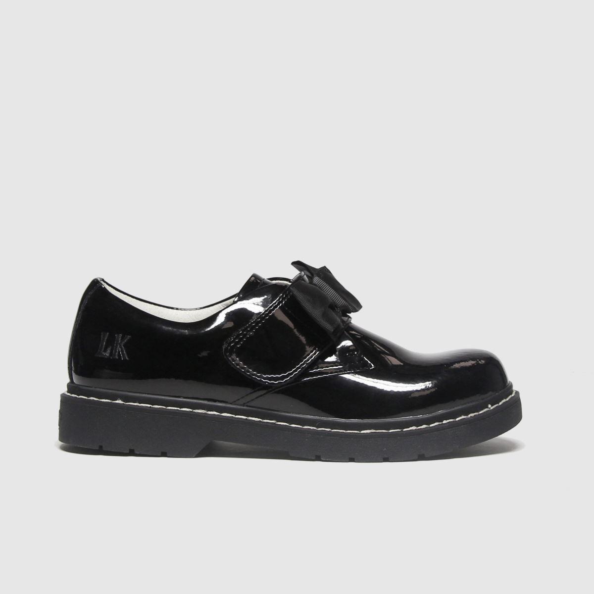 Lelli Kelly Black Irene Bow Shoes Youth