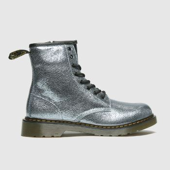 Dr Martens Turquoise 1460 Crinkle Metallic Girls Youth