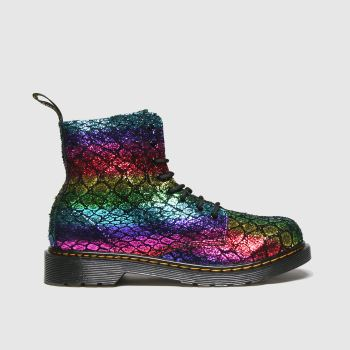 Dr Martens Multi 1460 Pascal Croc Girls Youth#