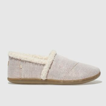 Toms Pink HOUSE SLIPPER Girls Youth