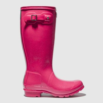 HUNTER PINK ORIGINAL GLOSS BOOTS YOUTH
