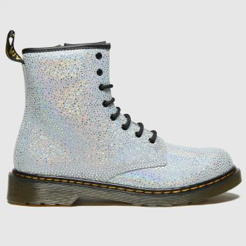 Dr Martens Silver 1460 Spot Girls Youth