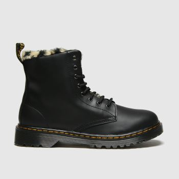 Dr Martens Black 1460 Serena Girls Youth