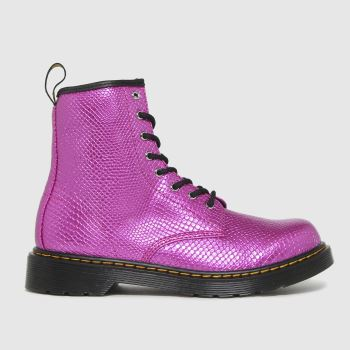 Dr Martens pink 1460 boots youth