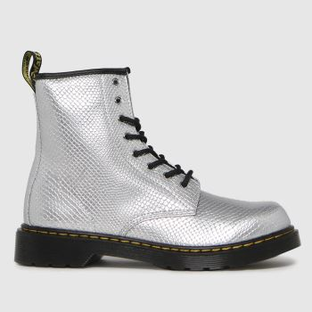 Dr Martens Silver 1460 Girls Youth