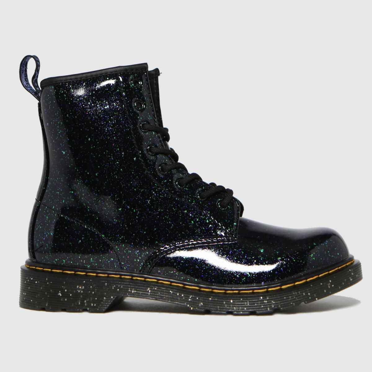 Dr Martens Dark Green 1460 Glitter Boots Youth