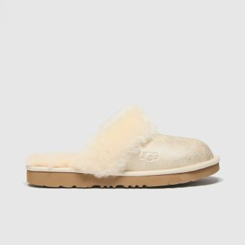 UGG gold cozy ii metallic slippers youth