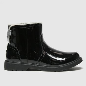 UGG Black Lynde Girls Youth