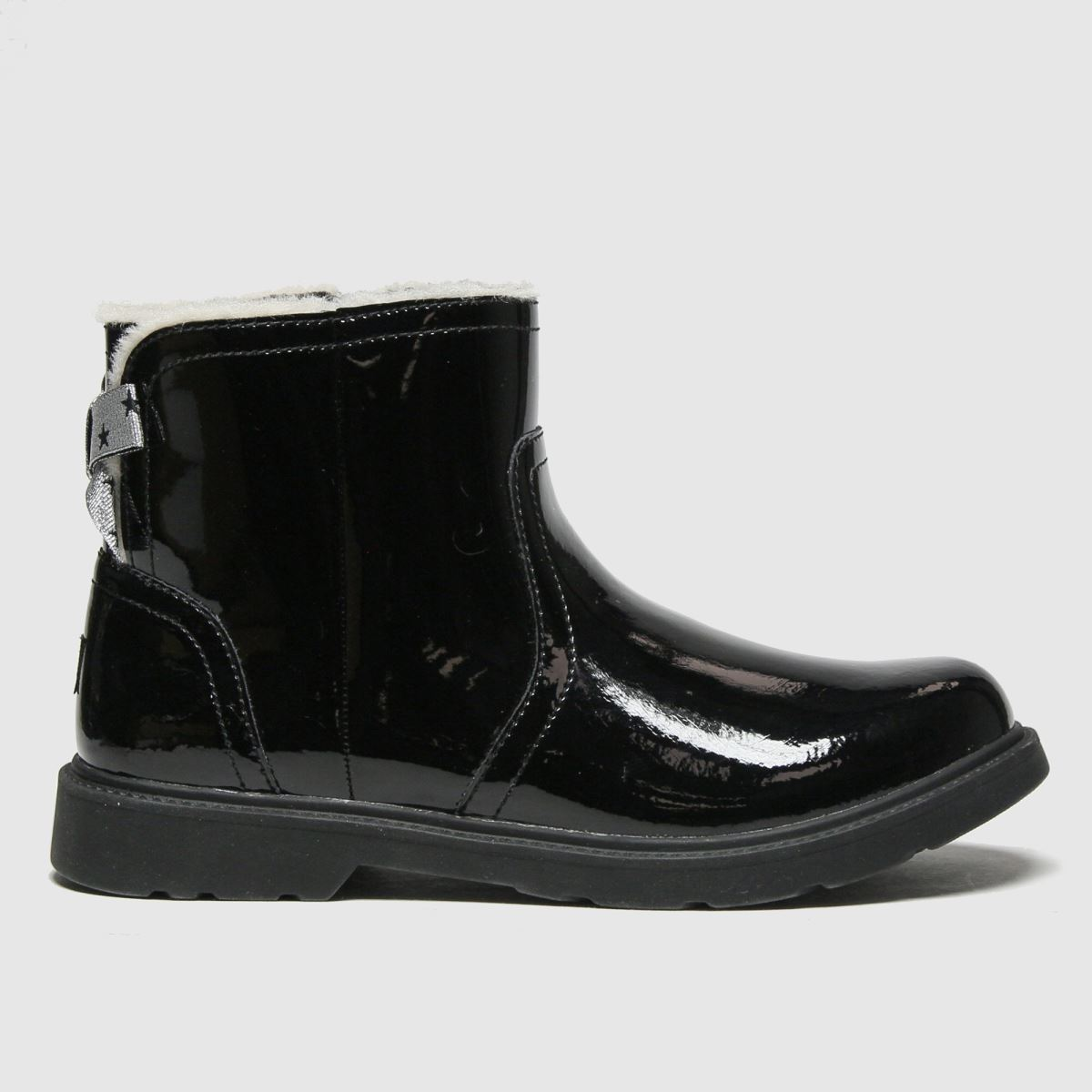 UGG Black Lynde Boots Youth